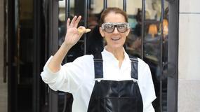 Celine Dion w ogrodniczkach i dziwnych okularach. Hit czy kit?