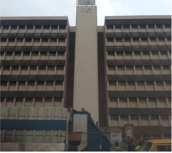 Abadoned Federal Government Ministry of Communications at Obalende, Lagos (Pulse)