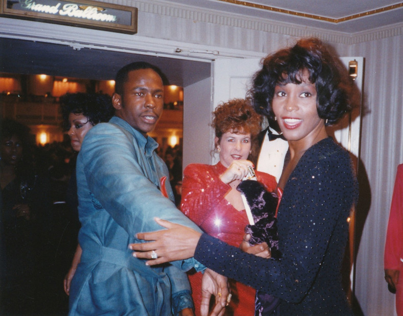 Whitney Houston i Bobby Brown (1993)