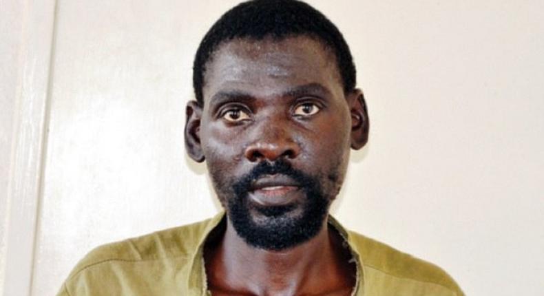 The suspected wife killer, Edmore Nyamazana