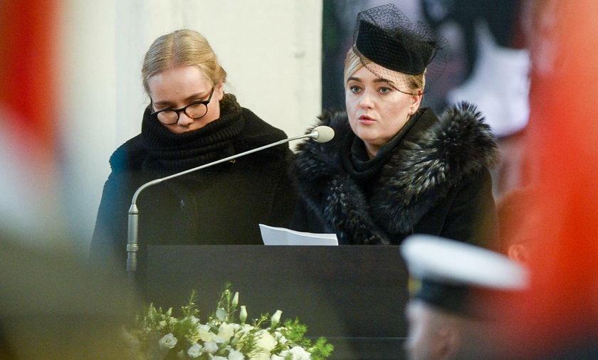 Wzruszające słowa żony i córki Pawła Adamowicza podczas pogrzebu