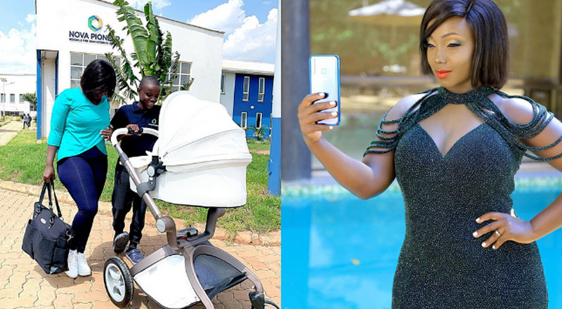 Kate Actress excites fans as she steps out looking all snatched up weeks after giving Birth (Photos)