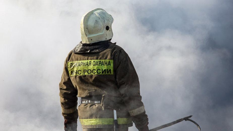 Rosyjska straż pożarna