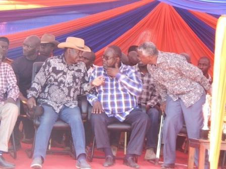 Image result for Raila speaks on Governor Awiti's health to after surgery