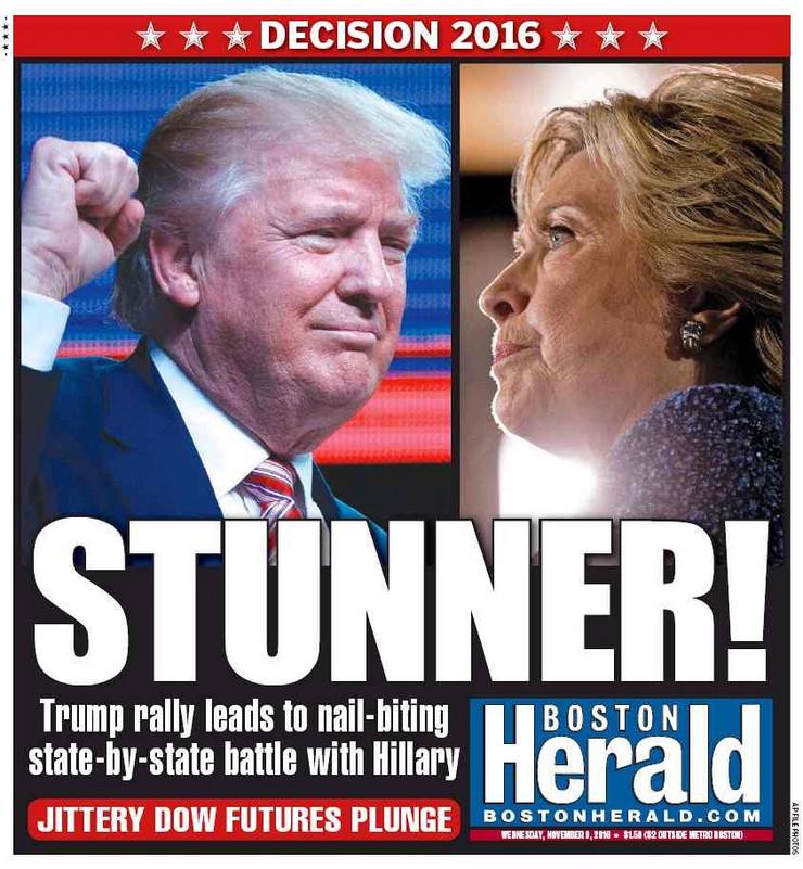 Naslovnice, Svetski mediji, Donald Tramp, Predsednik SAD