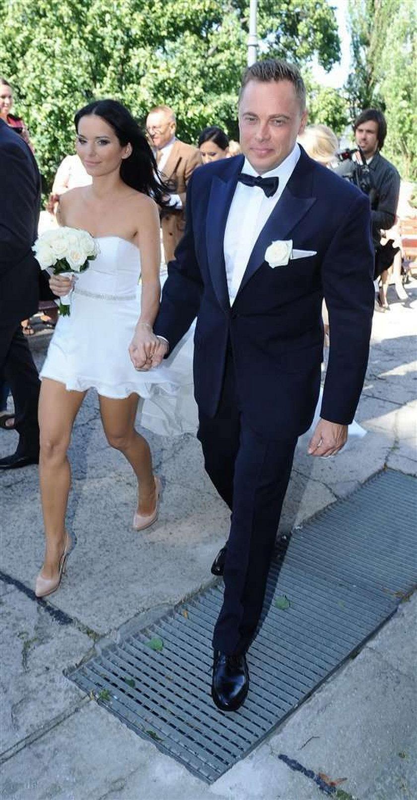 Ślub Pauliny Sykut