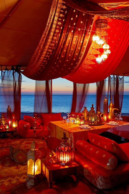 Thanda Island Arabian Nights are unforgettable. (courtesy)