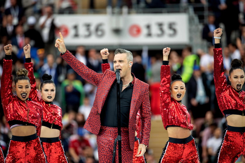 ''Wetten, dass...?'' in Bblingen: Robbie Williams