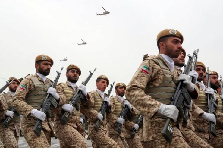 Iran vojska ap