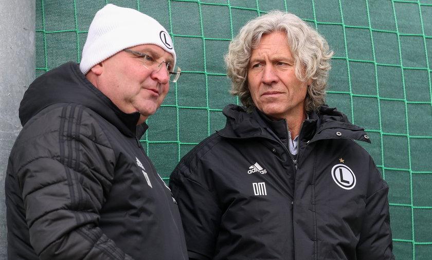 Dariusz Mioduski i Czesław Michniewicz lubią ze sobą rozmawiać, czasami nawet przez media