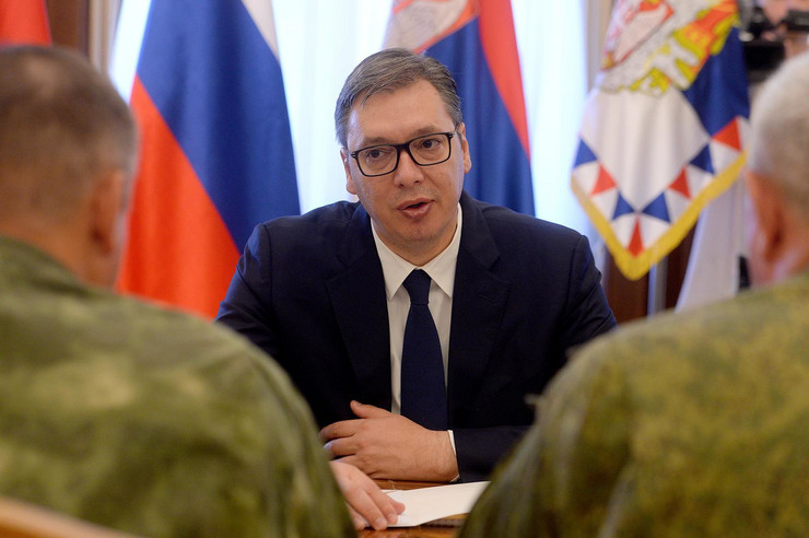 Aleksandar Vučić, Sastanak, Delegacija, Rusija, Belorusija