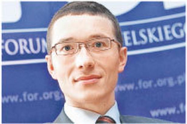 Wiktor Wojciechowski, ekspert od ubezpieczeń społecznych z Forum Obywatelskiego Rozwoju Fot. Wojtek Górski