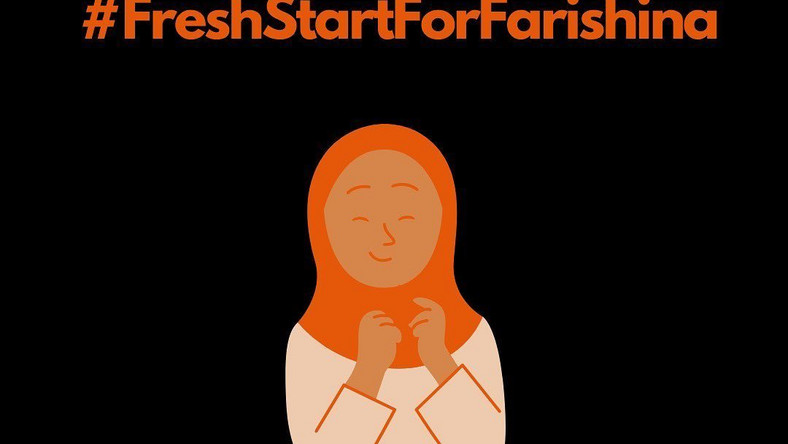 Two women's advocates crowdfunded over N10m for the #FreshStartforFaashrina campaign