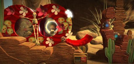 "Screen z gry ""LittleBigPlanet"""
