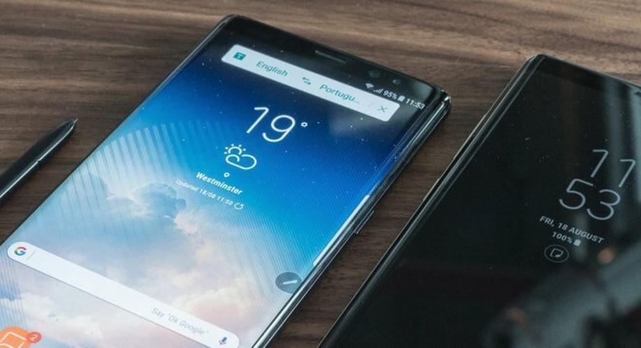 Samsung Galaxy Note 8 mit Stift im Hands-On