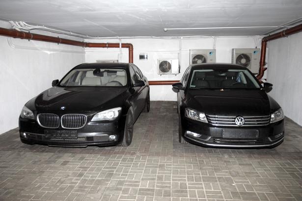Samochody należące do Amber Gold