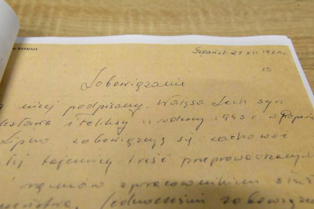 Zobowiązanie Lecha Wałęsy