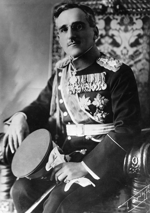 Na početku Prvog svetskog rata bio je vrlo mlad, imao je svega 26 godina