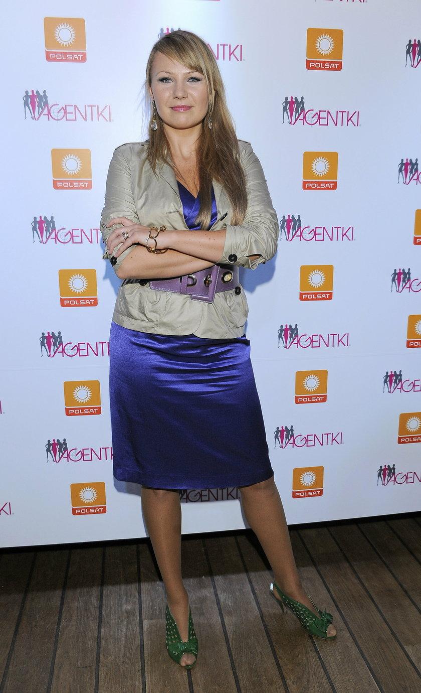 Anna Guzik w 2008 roku
