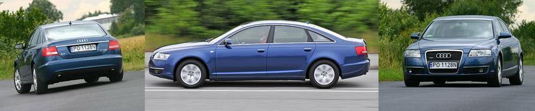 Mistrz długości - sedan Audi ma ponad 4,9 m. Jest też kombi.