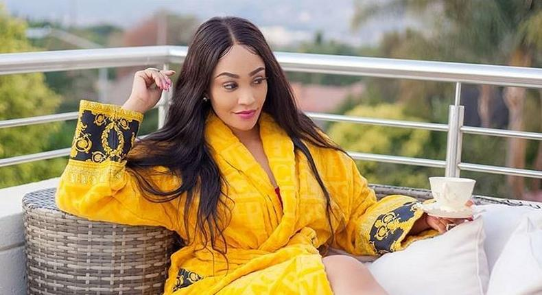 Zari Hassan shows off engagement ring
