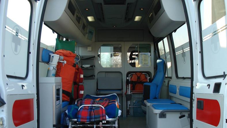 Wybuch w Poznaniu. Poparzone dzieci hospitalizowane