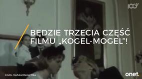 """Ilona Łepkowska zapowiada trzecią część filmu """"Kogel-Mogel"""""""