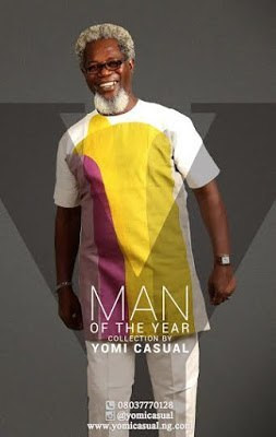 Victor Olaotan for Yomi Casual's 'Man of the Year' Collection