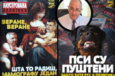 goran kozić, ilustrovana politika, naslovnice, kombo