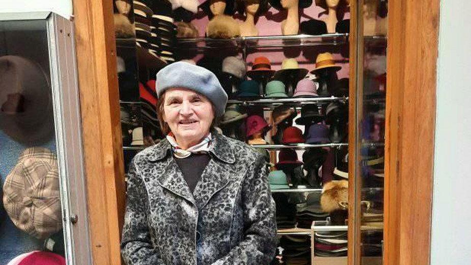 Maria Lipka zyskała nowych klientów dzięki wnuczce