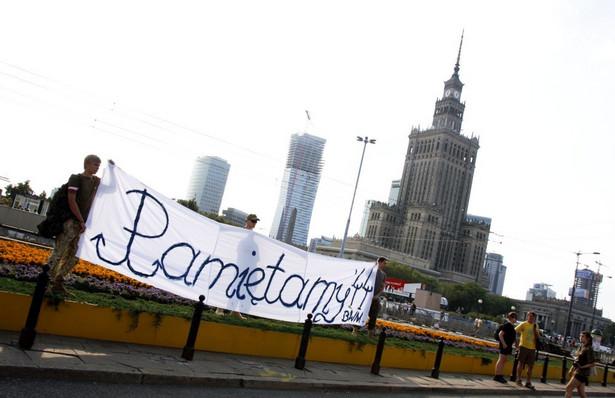 Powstanie Warszawskie. Upamiętnienie rocznicy na Rondzie Dmowskiego