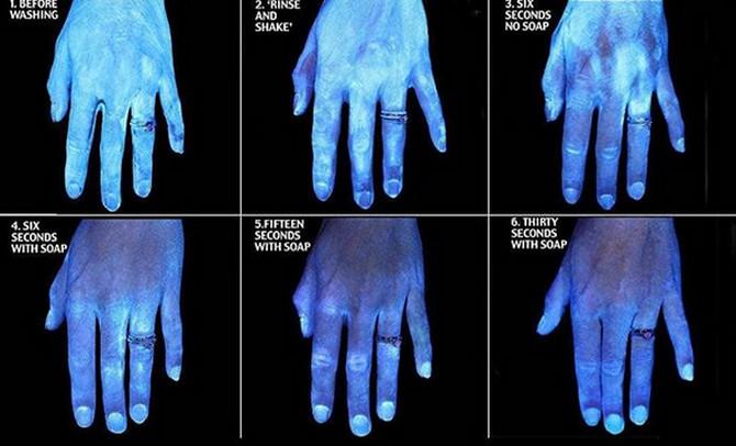 Ova slika objašnjava važnost pranja ruku