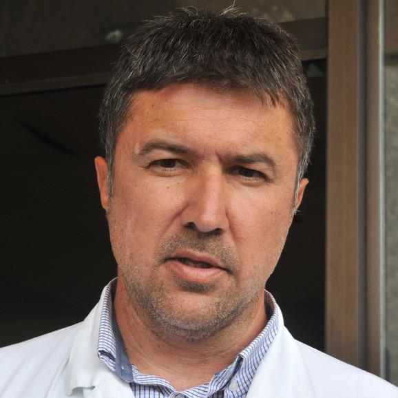 Dr Vladislav Tripković, načelnik ginekologije