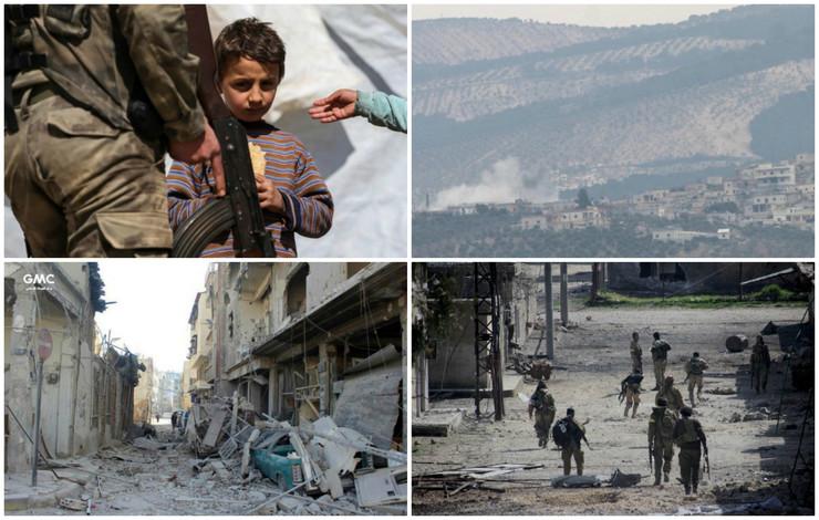 Sirija kolaž