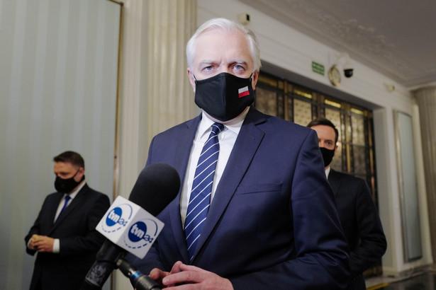 Wicepremier, minister rozwoju, pracy i technologii Jarosław Gowin