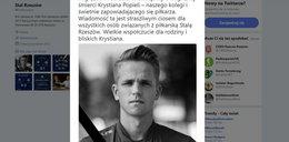 Tragedia na Podkarpaciu. Nie żyje piłkarz