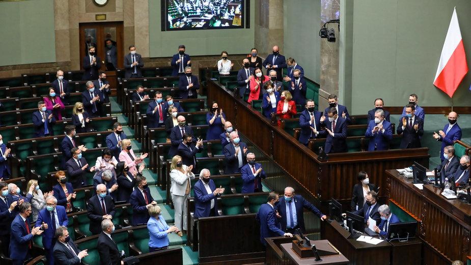 Fundusz Odbudowy. Sejm przyjął ustawę