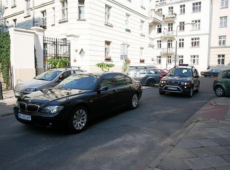 Prezydenckie BMW