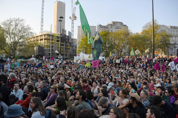 Protest u Londonu