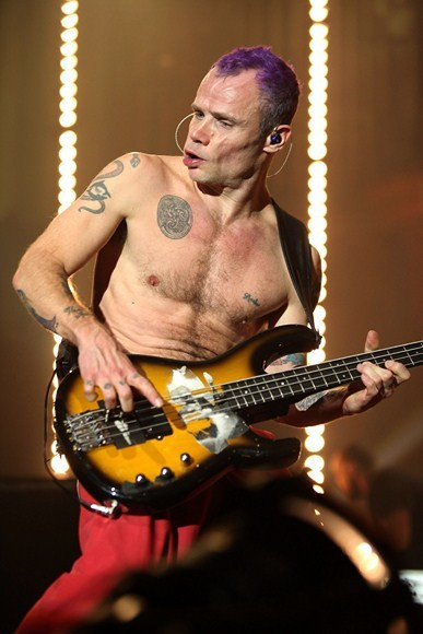 Red Hot Chili Peppers na MTV Europe Music Awards 2011 (fot. Getty Images)