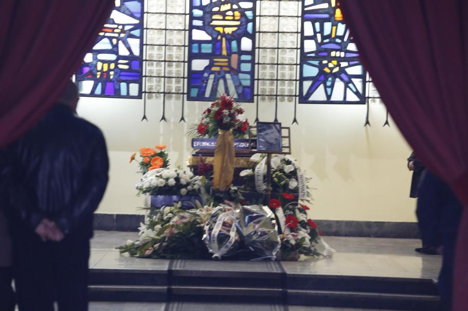 Ispraćaj za kremaciju Branislava Petruševića Petrućija