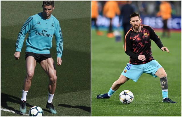 Kristijano Ronaldo i Lionel Mesi