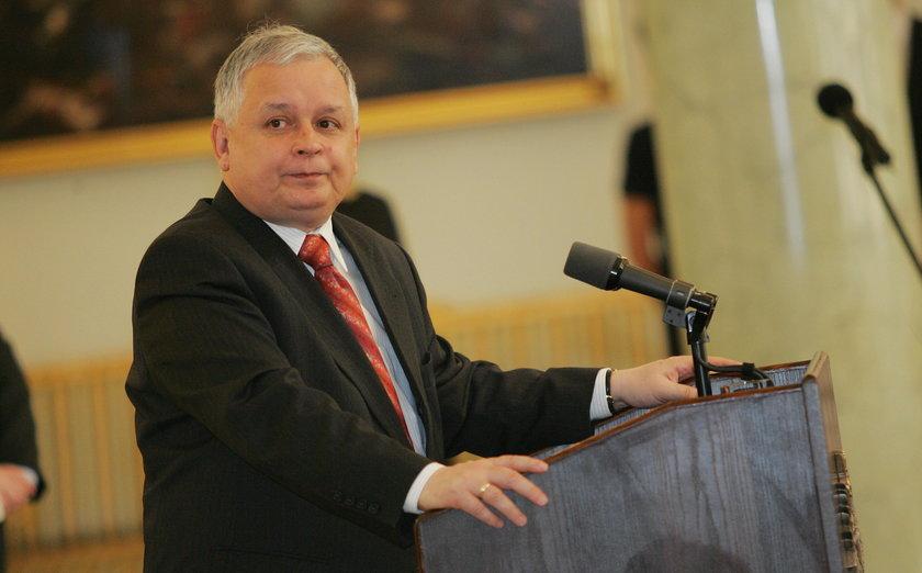 Prezydent Lech Kaczyński (†61 l.) pomógł sztangiście zostać Polakiem