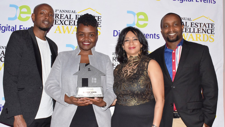 BuyRentKenya wins best real estate marketing platform award. (courtesy)