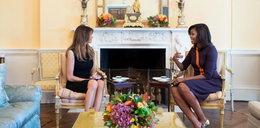 Niezręczne spotkanie pierwszych dam. O czym rozmawiały?