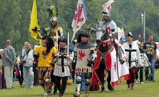 Pod Grunwaldem odbyły się uroczystości w 607. rocznicę bitwy