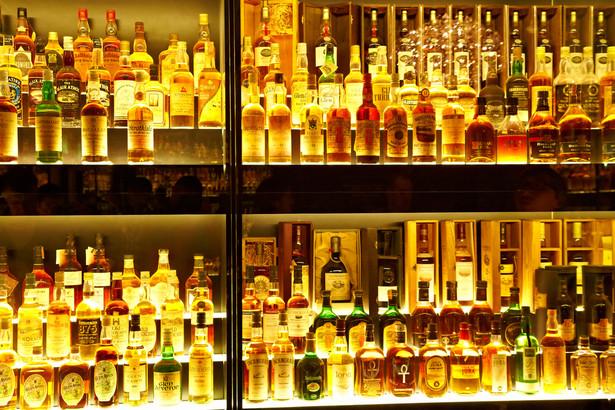 Kolekcja Diageo Claive Vidiz - największa kolekcja whisky na świecie. Edynburg, Szkocja. Fot. Nataliya Hora / Shutterstock.com