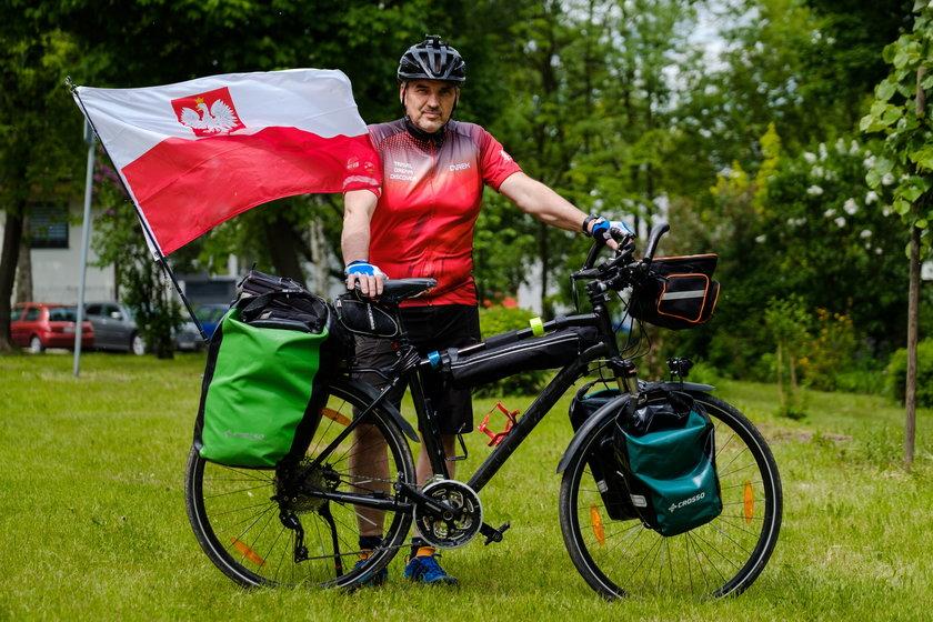 Dariusz Flesiński wyrusza w podróż po Europie. Cel jest szczytny - zbiórka kasy dla chorej Lilianki