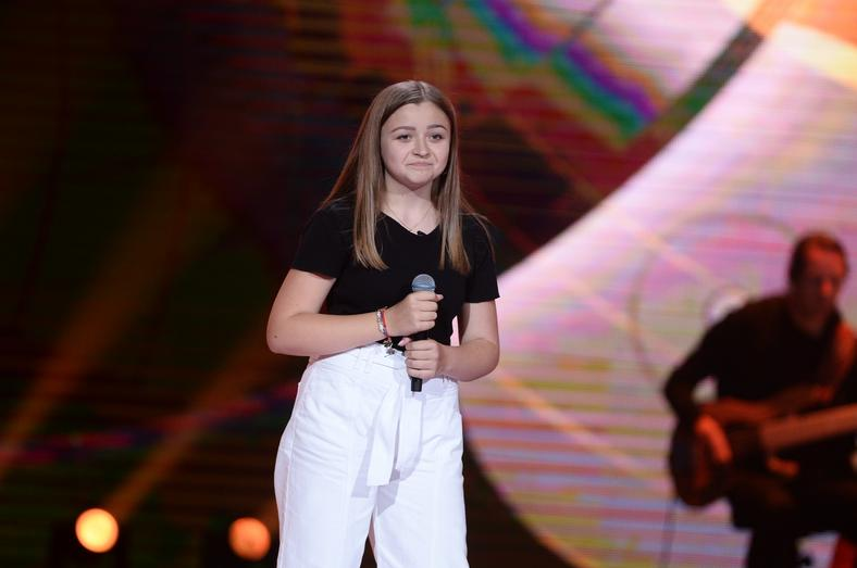 "Iga Pawełczak w ""The Voice Kids 3"""