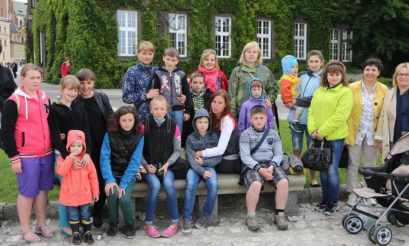 Dzieci Majdanu w Krakowie